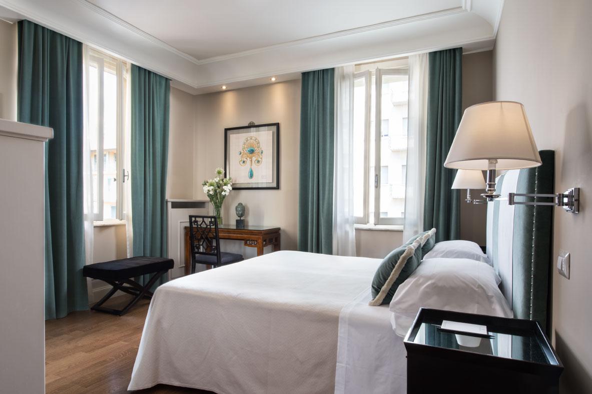 Habitación del Grand Hotel Francia & Quirinale